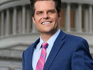 Florida 1st District House Representative Matt Gaetz (R)