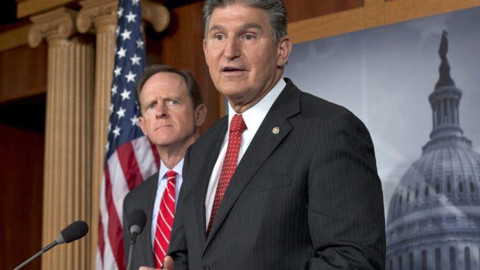 West Virginia Senator Joe Manchin (D)