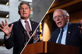 West Virginia Senator Joe Manchin (D) - Joe Manchin is FURIOUS Bernie Sanders Dunked on Him on His Home Turf
