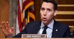 Missouri Senator Josh Hawley (R) - Face Consequences For His Treason